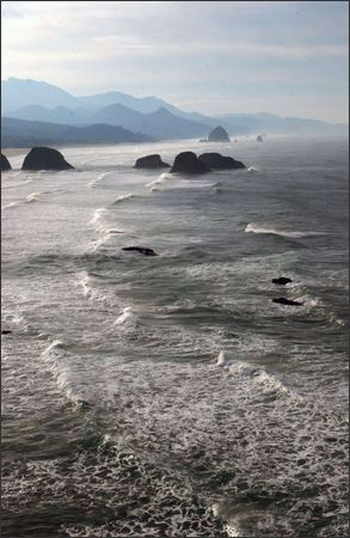 The view from the bluffs of Ecola State Park provides some of the most spectacular scenery to be found on the Oregon coast.