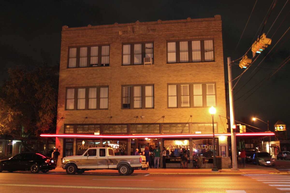 The Phoenix Saloon is in a restored historic space at 193 W. San Antonio St. KATHLEEN SCOTT / SPECIAL TO THE EXPRESS-NEWS