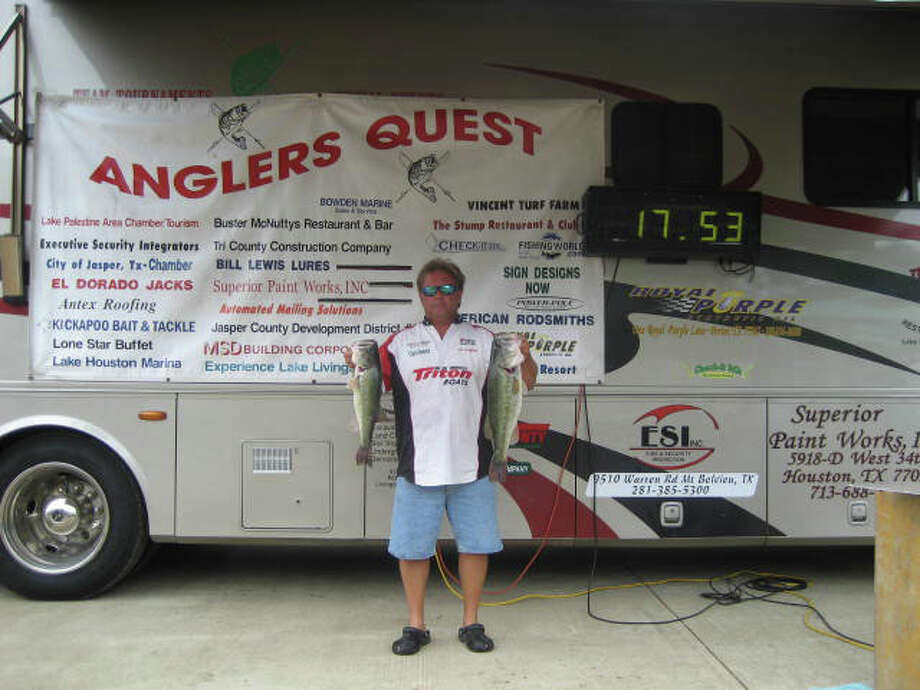Joe Layton, Second Place at Angler's Quest on April 3, 2011