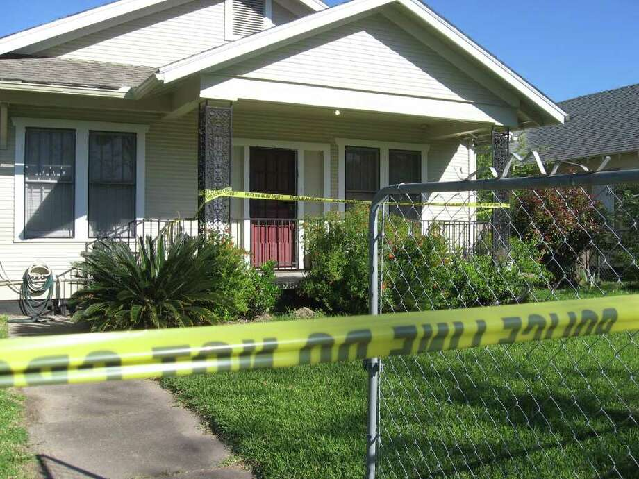 A woman and man were found fatally shot at this residence in the 3400 block of 8th Street in Port Arthur. Teresa Mioli/ The Enterprise