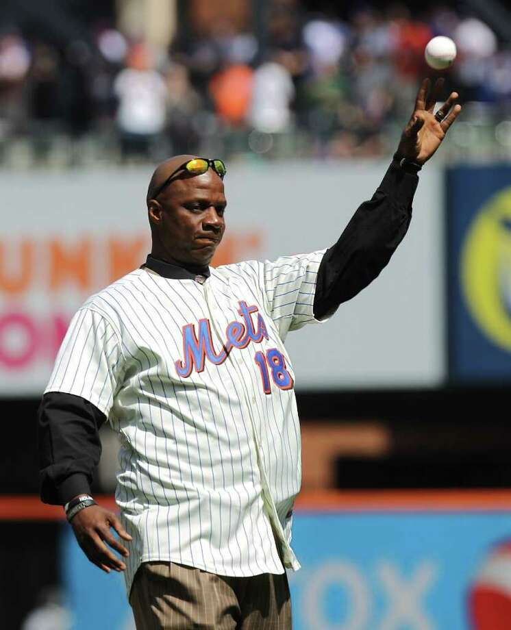 Former New York Mets star Darryl Strawberry, an eight-time all-star, had drug and legal problems after his playing career. Photo: Nick Laham, Getty Images / 2010 Getty Images