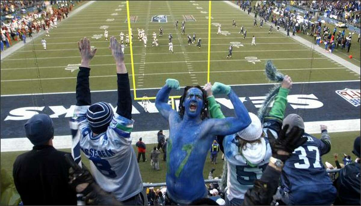 It's no secret the Seahawks are a different team when they play at Qwest Field, where they are 7-1 this season and the roar of fans can disrupt opponents.