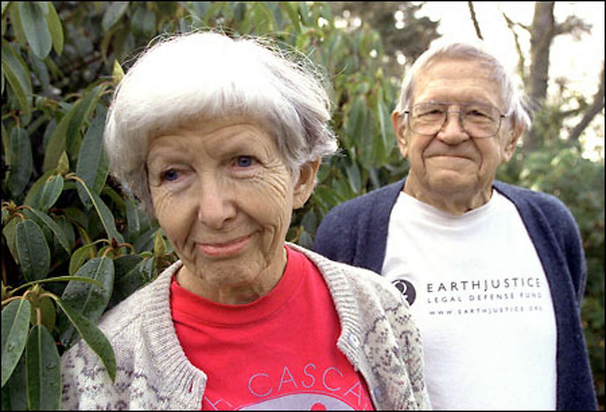 Margaret Miller and Joe Miller helped stop the raising of Ross Dam. They spent summers in the Big Beaver Valley, emerging with reports and pictures of 800-year-old red cedar forests that would have been inundated.