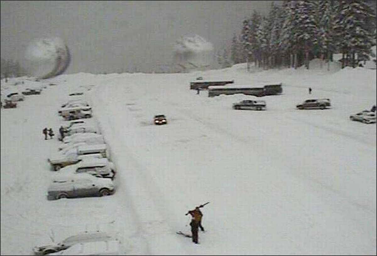 Stevens Pass is going to get walloped with snow over the next few days.