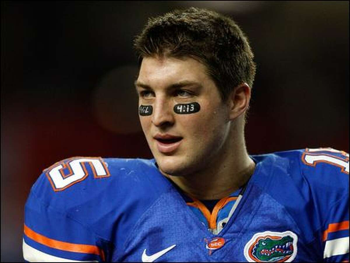 Florida quarterback Tim Tebow leads the No. 1 Gators into the title game vs. No. 2 Oklahoma.