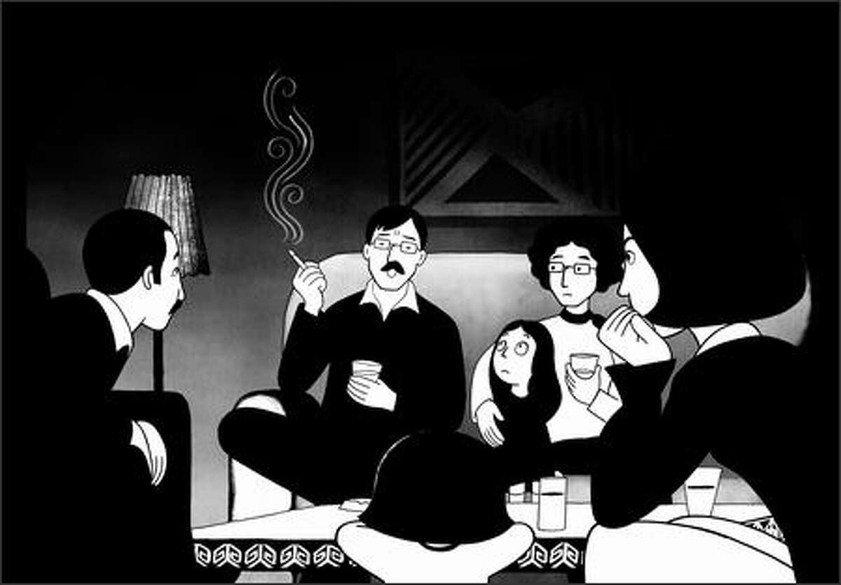 """""""Persepolis"""" is nominated for best animated feature film."""