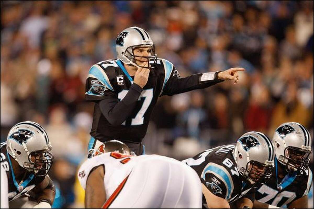 Carolina quarterback Jake Delhomme is 5-2 as a playoffs starter. His teams are 4-0 against Arizona.