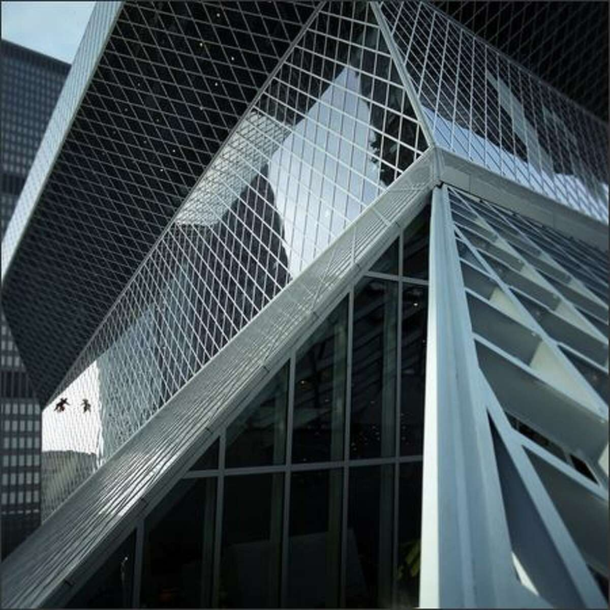 Criticism was directed at the new Seattle Central Library.
