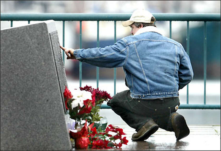 Kris Petersen remembers his brother, Bob Petersen, who died crab fishing nine years ago. Kris was on another boat when he heard the mayday. Photo: Karen Ducey, Seattle Post-Intelligencer / Seattle Post-Intelligencer