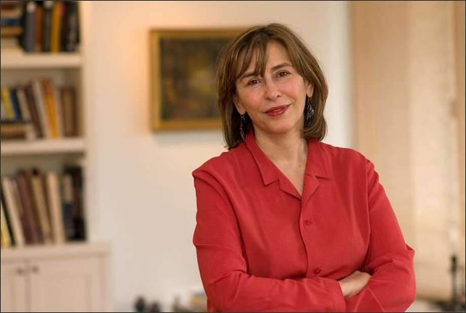 "Azar Nafisi, author of ""Things I've Been Silent About."""