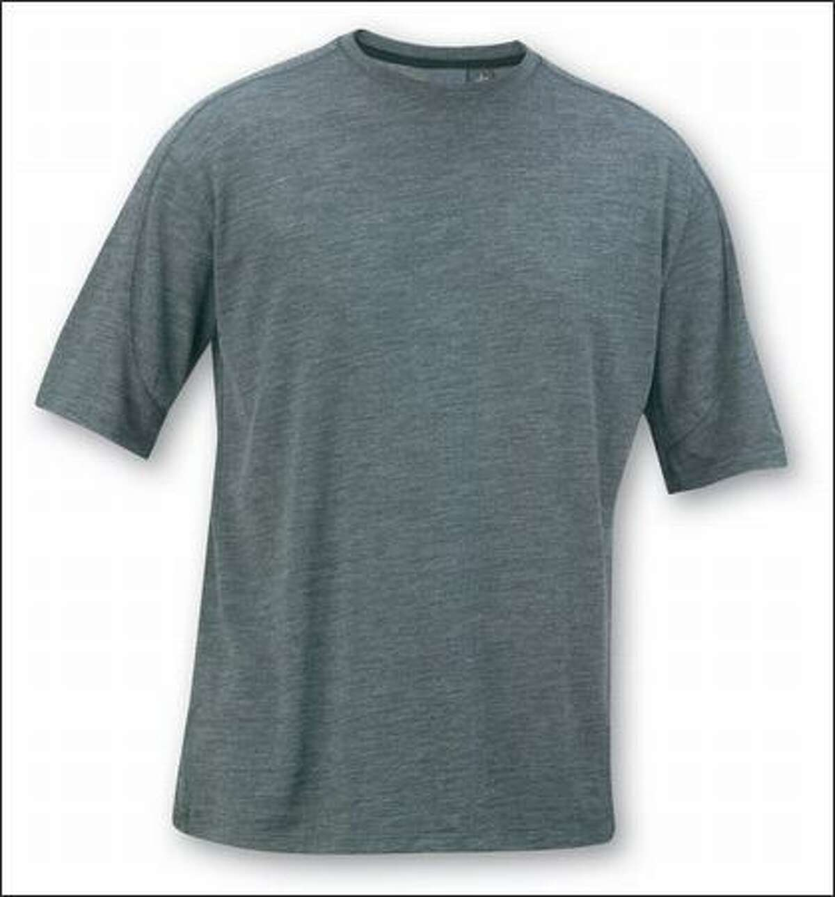Ibex Qu T-shirt breathes well, insulates, wicks sweat and never stinks.
