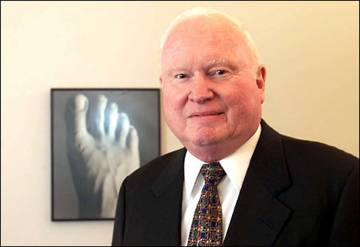 J.G. Cairns, a CEO in the local prosthetics industry: