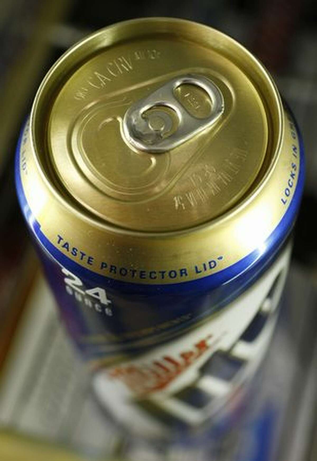 A can of Miller Lite beer is shown at a store in Palo Alto, Calif., Wednesday, Jan. 20, 2010. MillerCoors started advertising flagship Miller Lite's