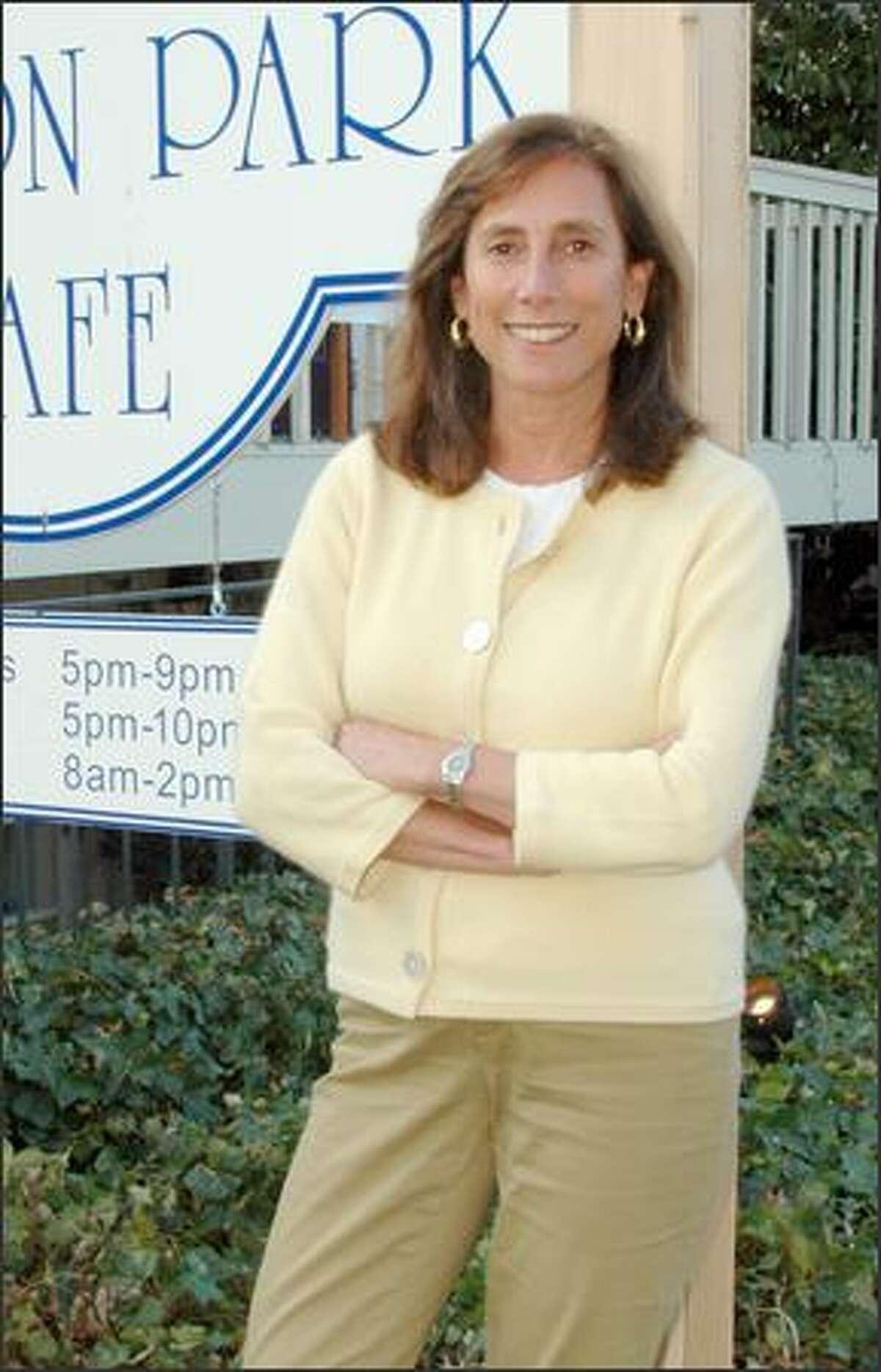 Karen Binder, owner of Madison Park Cafe.