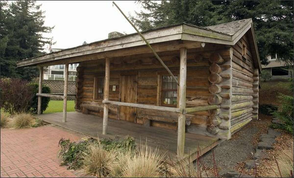 The Job Carr Cabin Museum will reopen on Feb. 4. Carr was Tacoma's first white settler, postmaster and mayor.