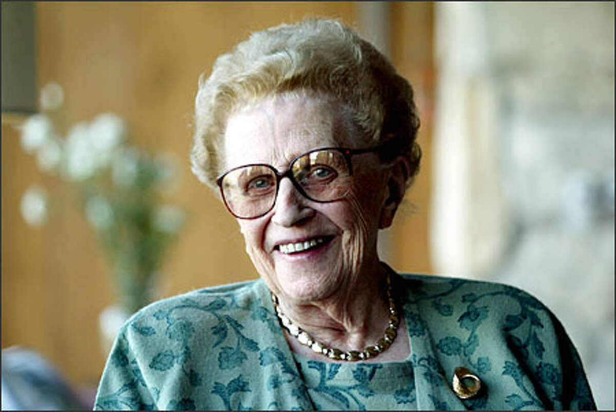 Alice Sandstrom, who won a Jefferson Award in 1997 for her work with the YWCA, is going strong at 91: