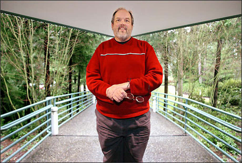 Ward Cunningham brings his knowledge of patterns as problem solvers to Microsoft's Prescriptive Architecture Guidance group. Photo: Paul Joseph Brown, Seattle Post-Intelligencer / Seattle Post-Intelligencer