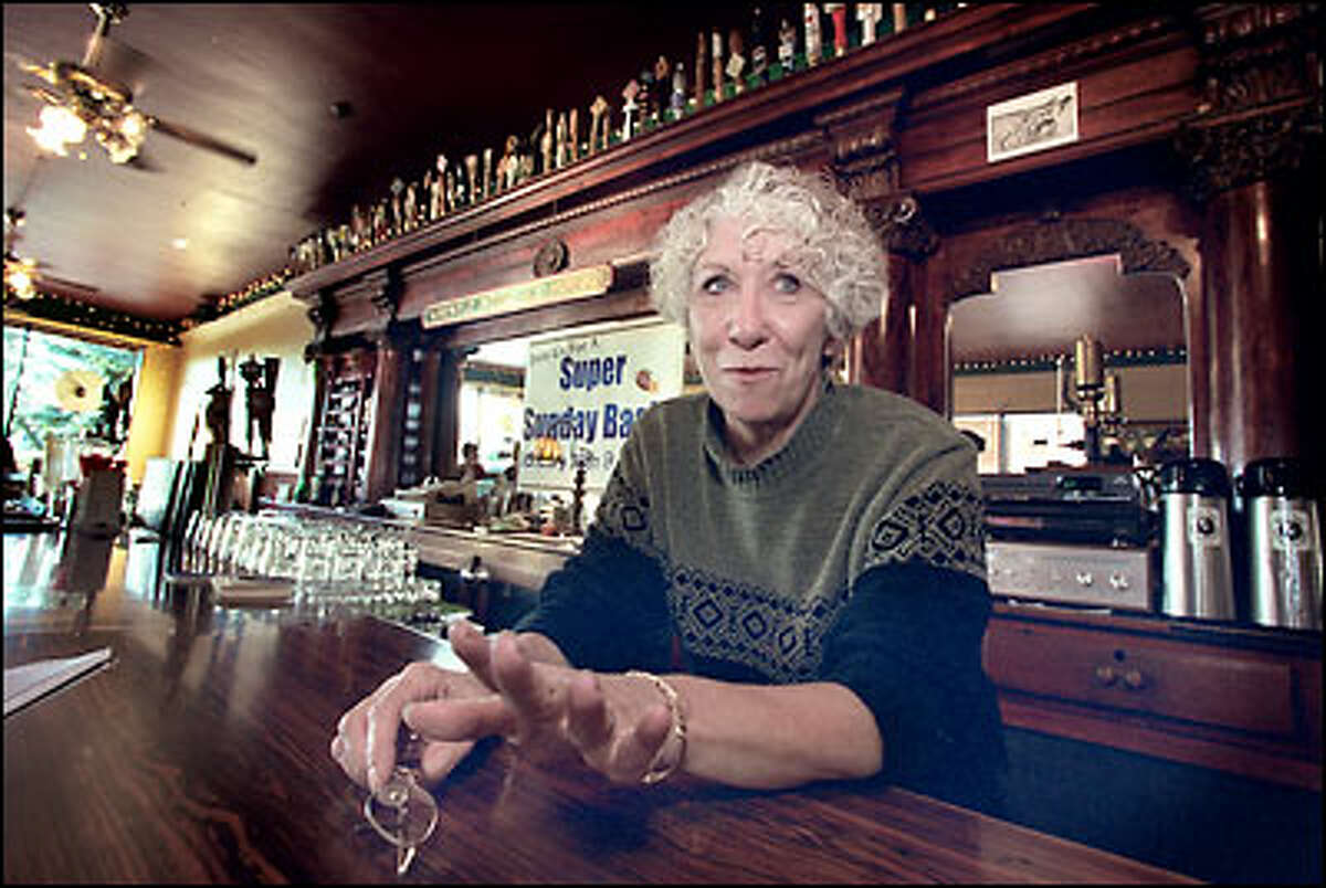 Janet Walker, manager of the Whistle Stop Ale House in Renton, talks about the possibility of Boeing closing its local plant. The company acknowledged this week that it is exploring the option of moving production work from Renton to its Everett plant.