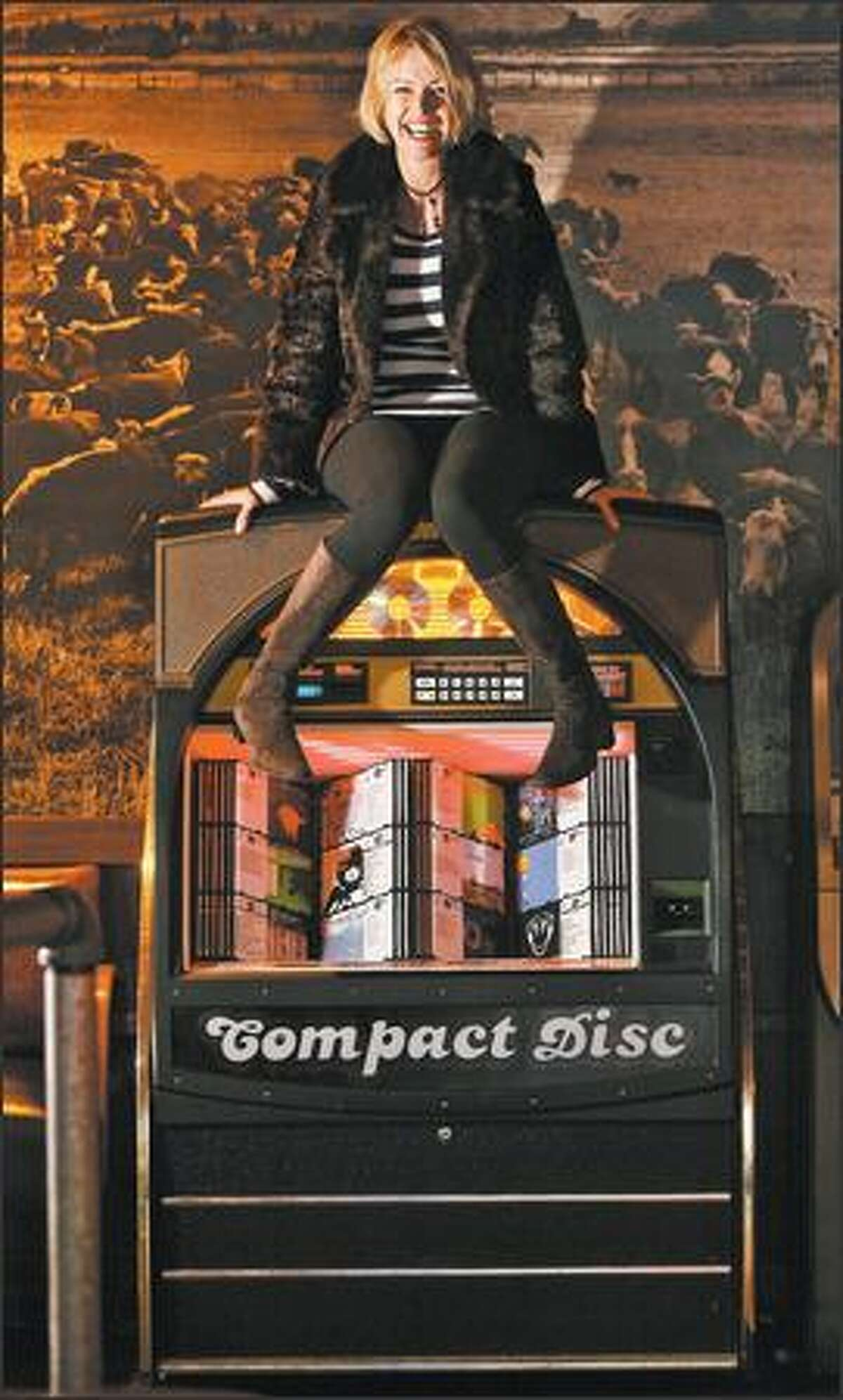 """""""I just think jukeboxes are cool,"""" says Linda Derschang, managing owner of Linda's Tavern on Capitol Hill. """"I've always been a fan of the dive bar, and a good dive bar has a great jukebox."""""""