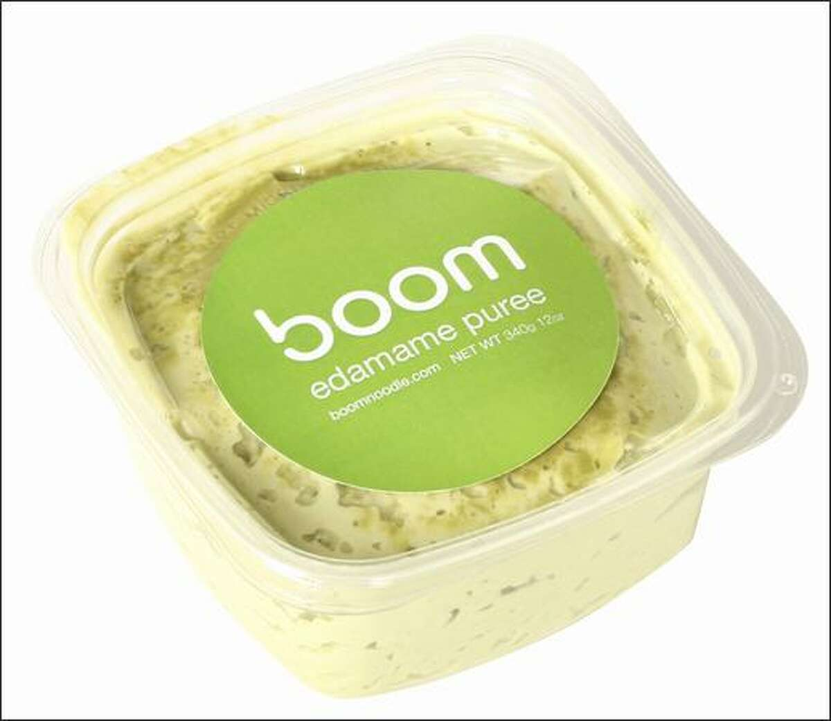 Boom Noodle's Edamame Puree