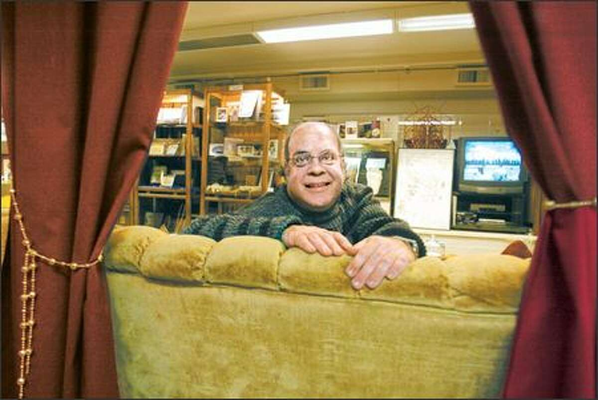 Philip Lipson, co-director of Seattle Museum of the Mysteries, hopes its collection on UFOs, ghosts, Bigfoot and more will