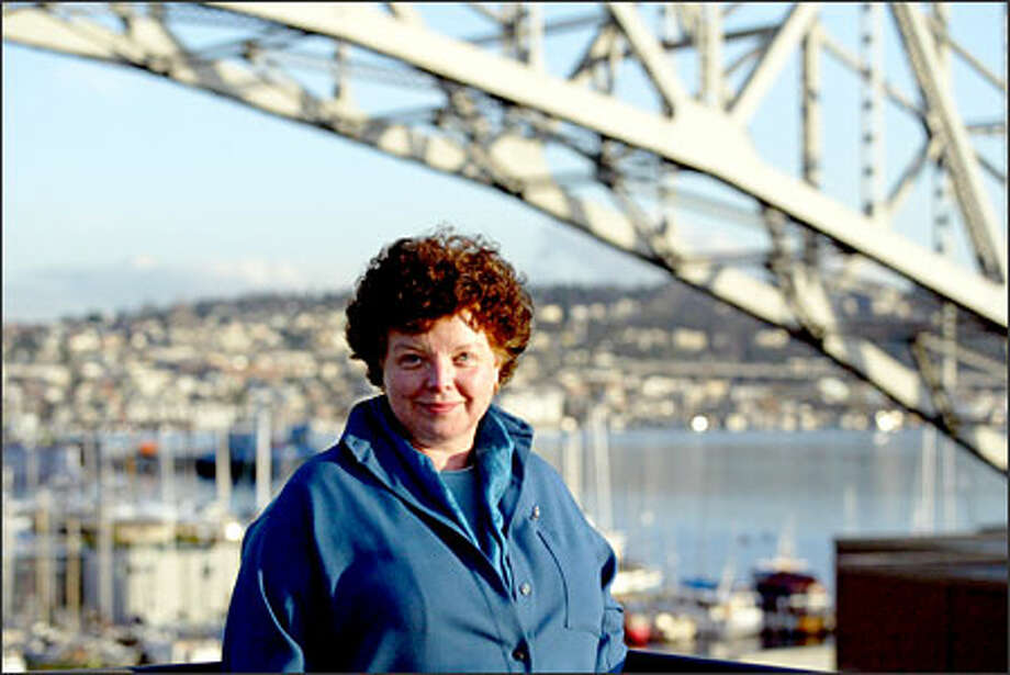 Fran Conley, chairwoman and chief executive officer of Cutter & Buck Inc., feels a responsibility to see the company through recent tumult. Photo: Phil H. Webber, Seattle Post-Intelligencer / Seattle Post-Intelligencer