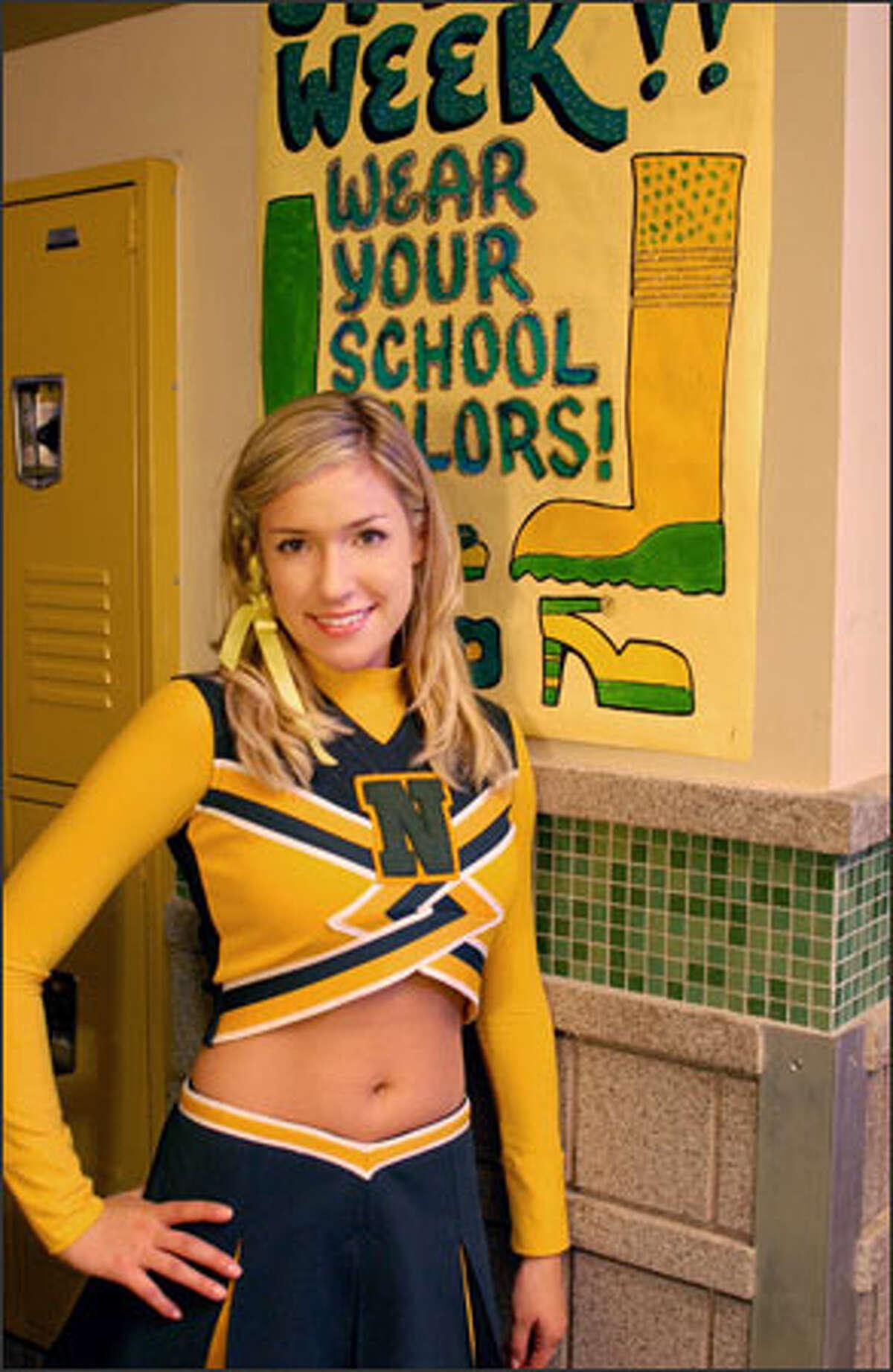 Kristin Cavallari will play a gay cheerleader on UPN's