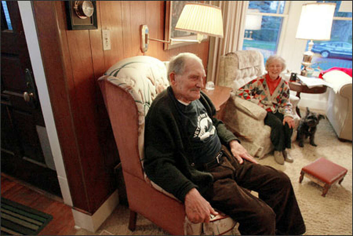 Lyle and Barbara Mercer, at their home on Capitol Hill, say claims that Social Security is in crisis are