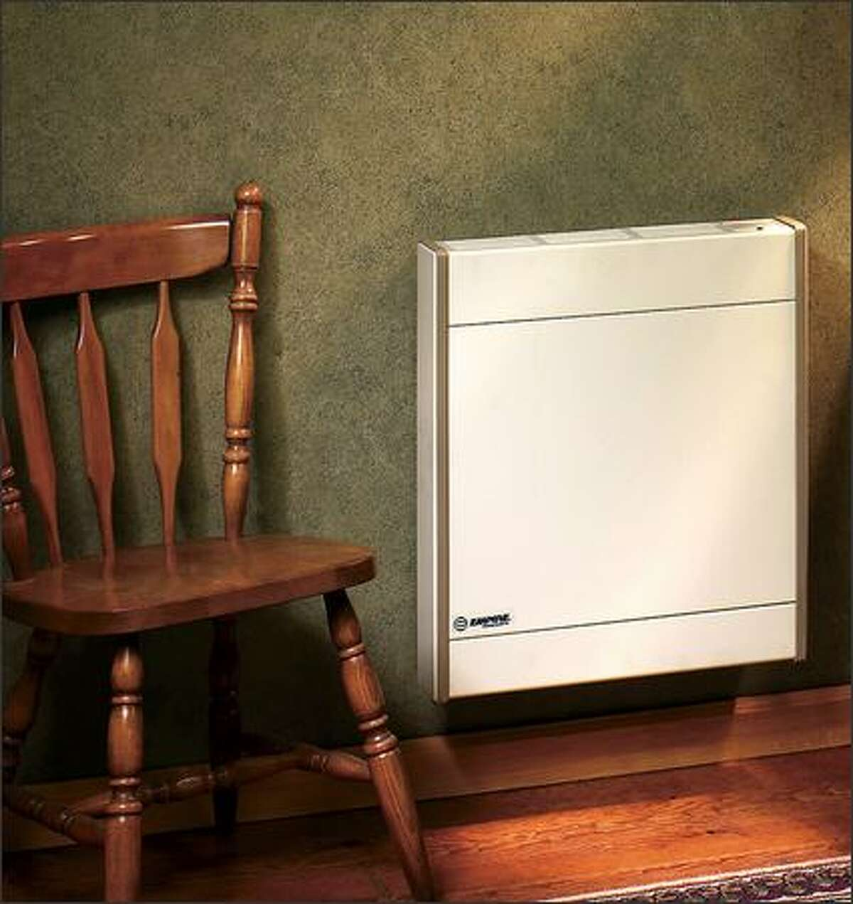 A slim, compact gas heater for areas where floor space is limited.(EMPIRE COMFORT PRODUCTS)