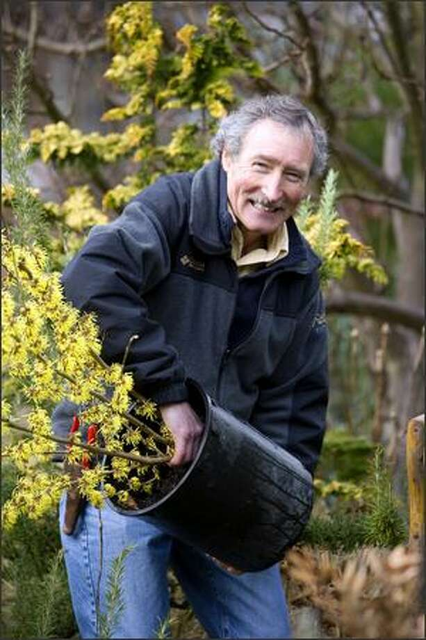 """HBO's """"Last Week Tonight"""" introduced local gardening expert Ciscoe Morris to a nationwide audience on Sunday. Photo: Andrew Buchanan"""