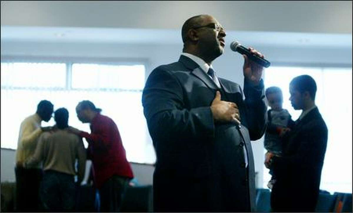 Harvey Drake is senior pastor at Emerald City Bible Fellowship, a multicultural church in Rainier Valley that started as a mostly black congregation in the early 1990s.