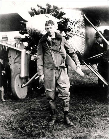 "1927: Aviator Charles Lindbergh, Time Magazine's first ""Person of the Year"" Photo: Associated Press / Associated Press"