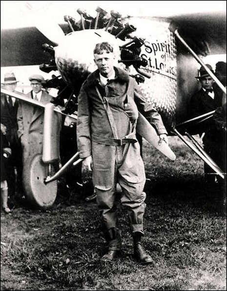 1927: Aviator Charles Lindbergh, Time Magazine's first