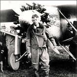"""1927: Aviator Charles Lindbergh, Time Magazine's first """"Person of the Year"""""""