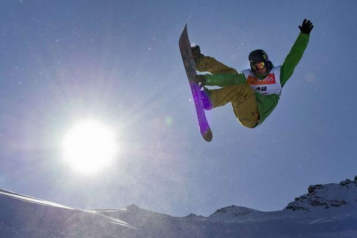 Kevin Pearce competes at the men's half-pipe snowboarding FIS World Cup final event on Nov. 5, 2009 in Saas-Fee, Switzerland. Pearce suffered a severe brain injury in practice on Dec. 31.