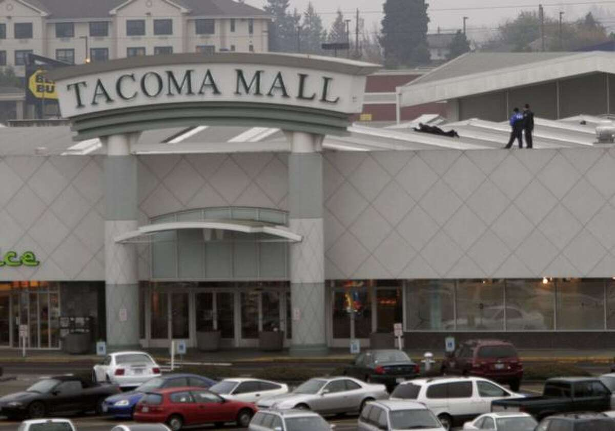 Tacoma Mall during a shooting in 2005.