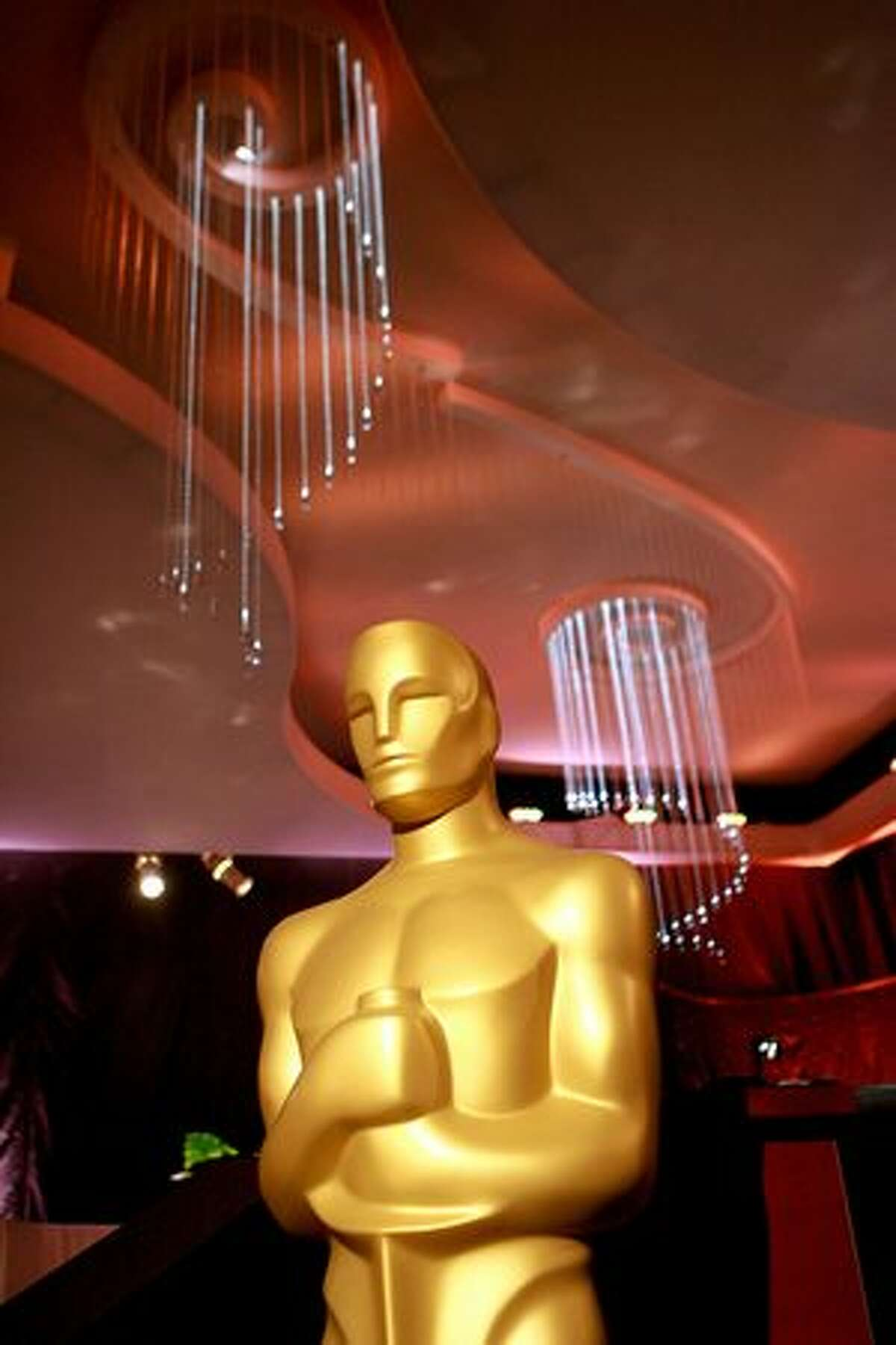 A general view of the atmosphere at the 82nd Academy Awards Governors Ball Preview on Feb. 9 at The Grand Ballroom at Hollywood and Highland in Hollywood, Calif.