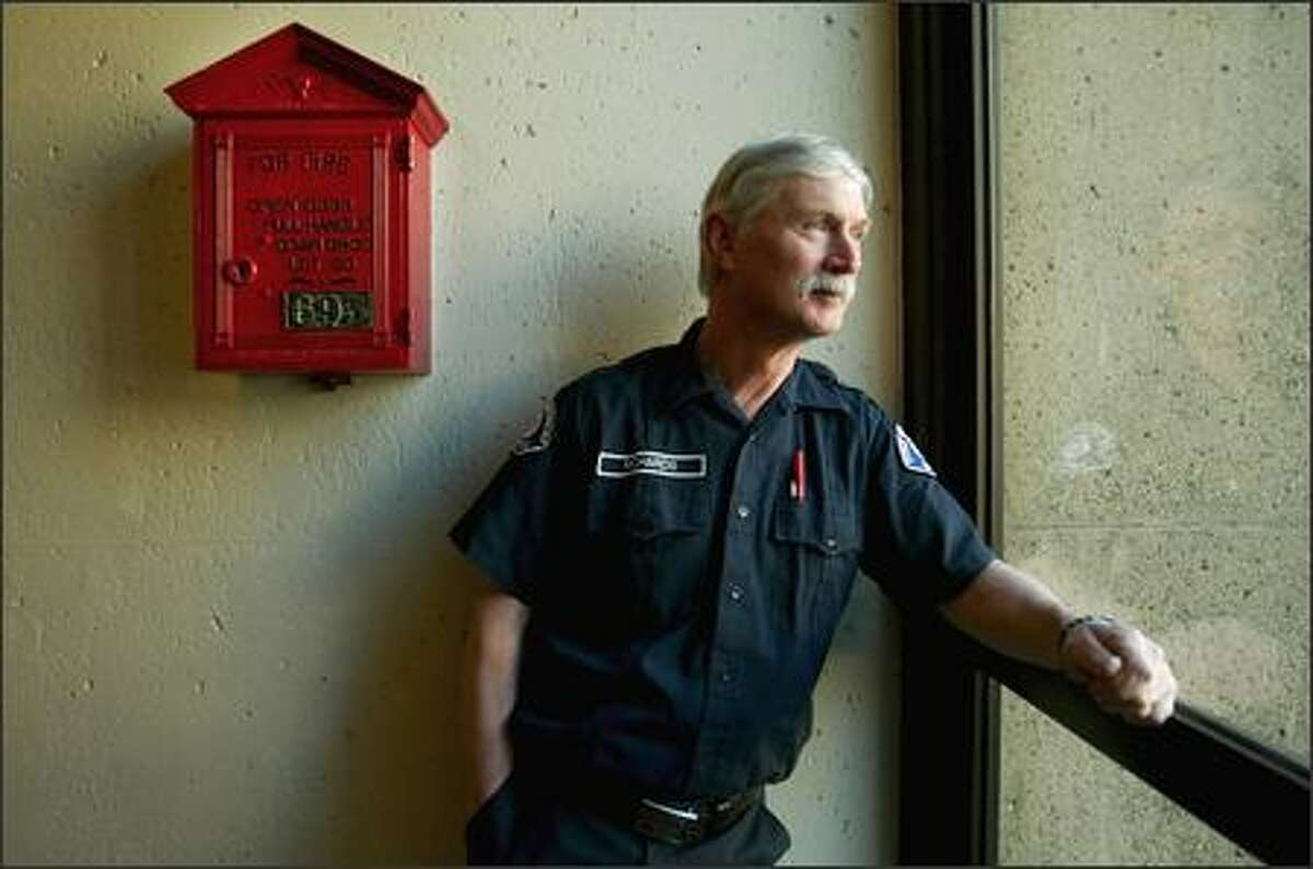 Firefighter Gary Richards will work his last shift today at Station 25 on Capitol Hill, ending his family's 100-year streak with the Seattle Fire Department.