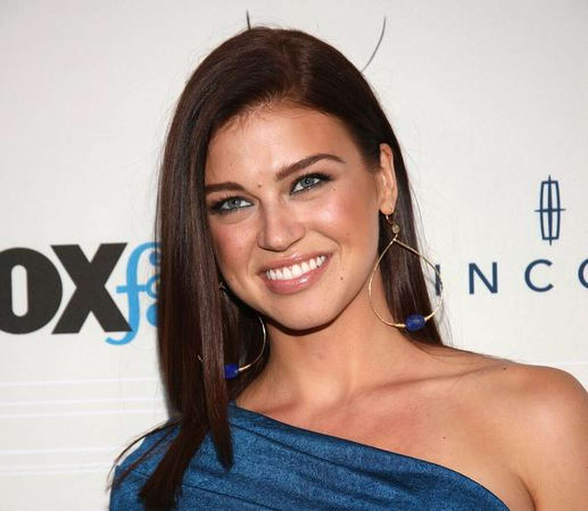 Actress Adrianne Palicki attends a Fox network event in West Hollywood, Calif., in this September 2010 file photo.