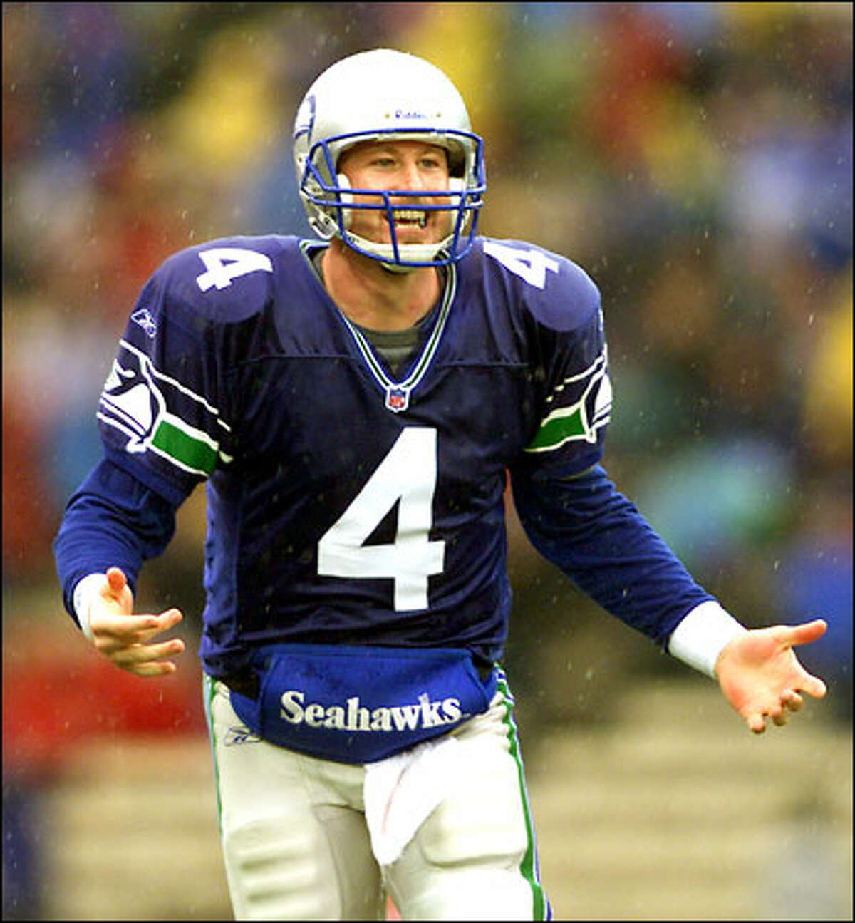 Trent Dilfer becomes an unrestricted free agent a week from today and wants to be a starter.