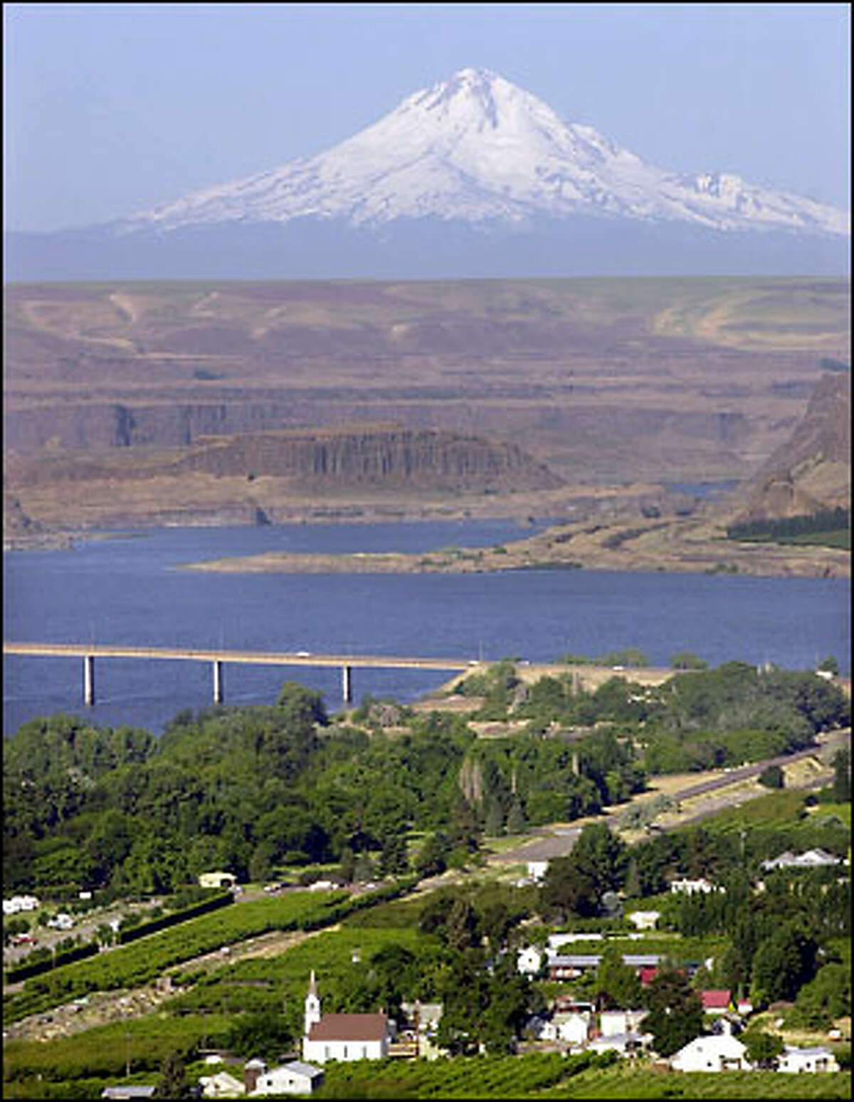 In 1997, Catholic bishops in the Northwest began studying the Columbia River watershed. Yesterday, 12 bishops released their pastoral letter on the Columbia and called for cooperation in sharing the watershed's resources.