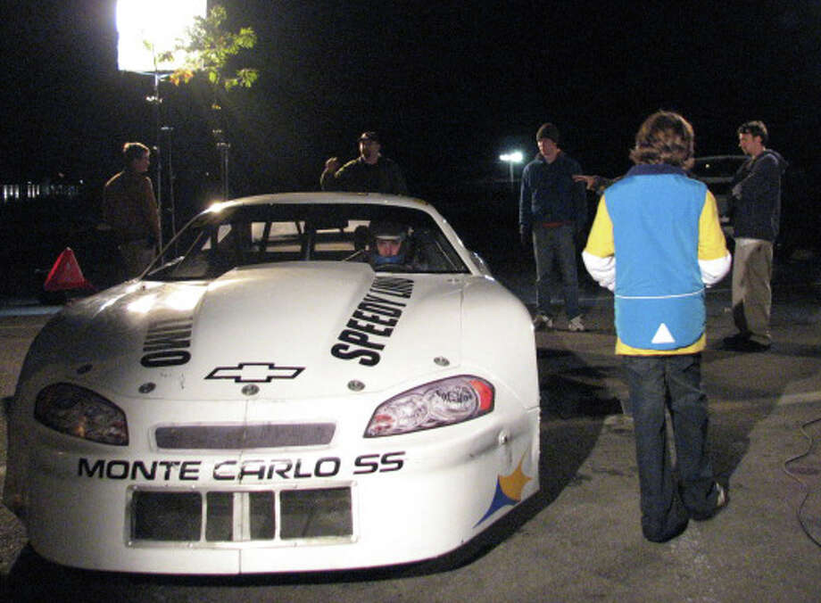 "Shooting for much of the new movie, ""3Weeks to Daytona,"" by Fairfielder Bret Stern took place in area communities and an upstate race track. Photo: Contributed Photo / Fairfield Citizen contributed"