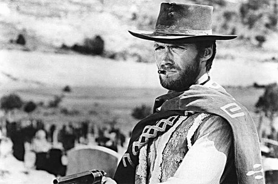 "Clint Eastwood in ""The Good, The Bad, The Ugly."""