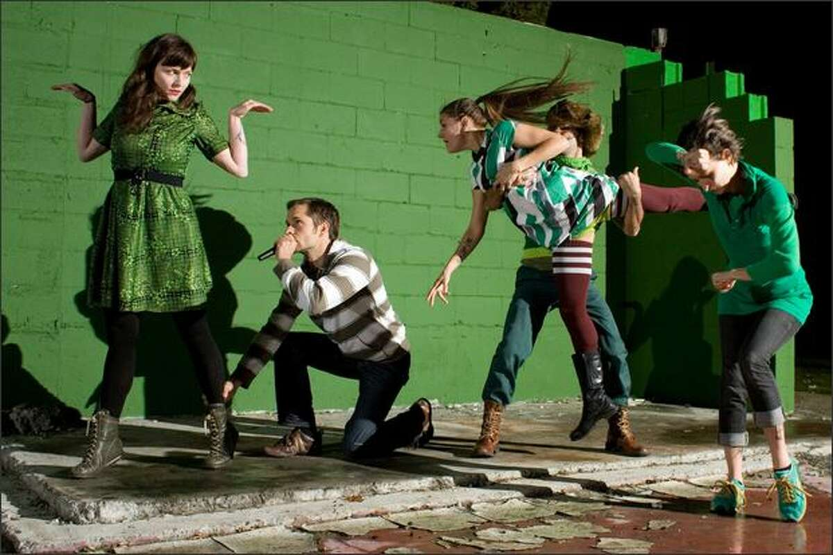 Seattle performance group Locust.