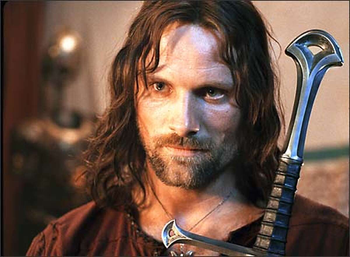 When he accepted the role of Aragorn in the