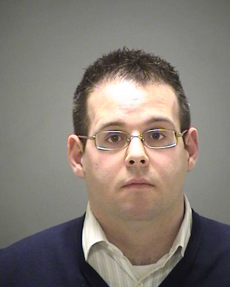 Michael Orr, shown here, and his wife Elissa Temple-Orr, of East Long Meadow, Mass., are charged with more than a dozen violations in connection with the theft of thousands of dollars in goods during a Byram burglary spree in 2010. Photo provided by Greenwich police. Photo: Contributed Photo / Greenwich Time Contributed