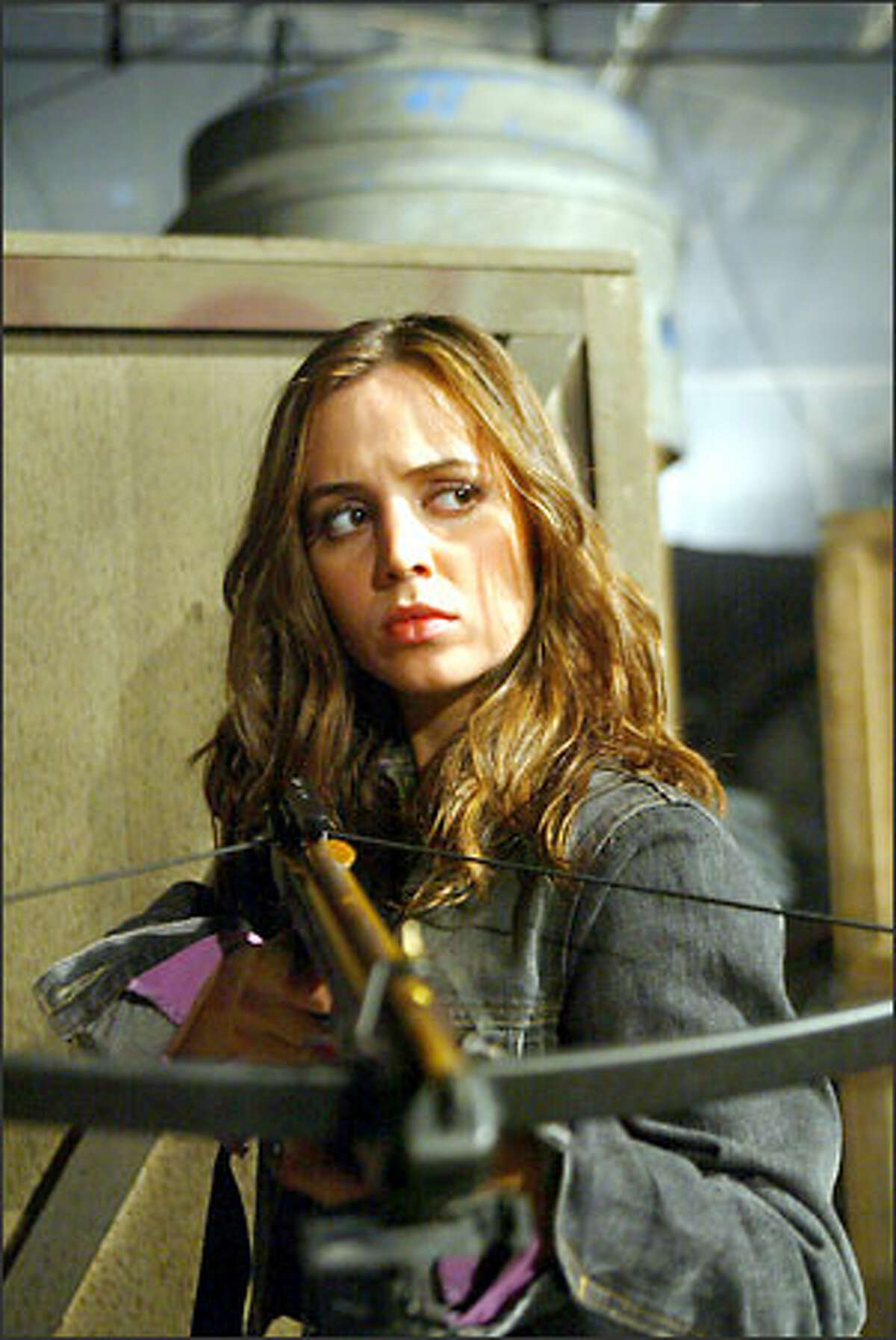 """Renegade Slayer Faith (Eliza Dushku) won't be headlining her own spin-off series, but she will play a key role on """"Buffy the Vampire Slayer"""" and """"Angel"""" starting this week."""