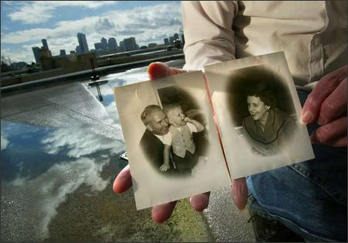 A closer look at the photos of Monte and Gladys McCaughey.