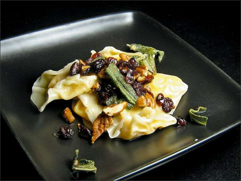Brunson says her recipe for butternut squash ravioli, devised after she studied numerous other ravioli recipes, is her best creation. (Kari Brunson)