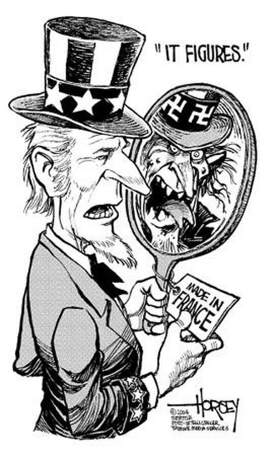 Uncle Sam Photo: David Horsey, Seattle Post-Intelligencer / Seattle Post-Intelligencer
